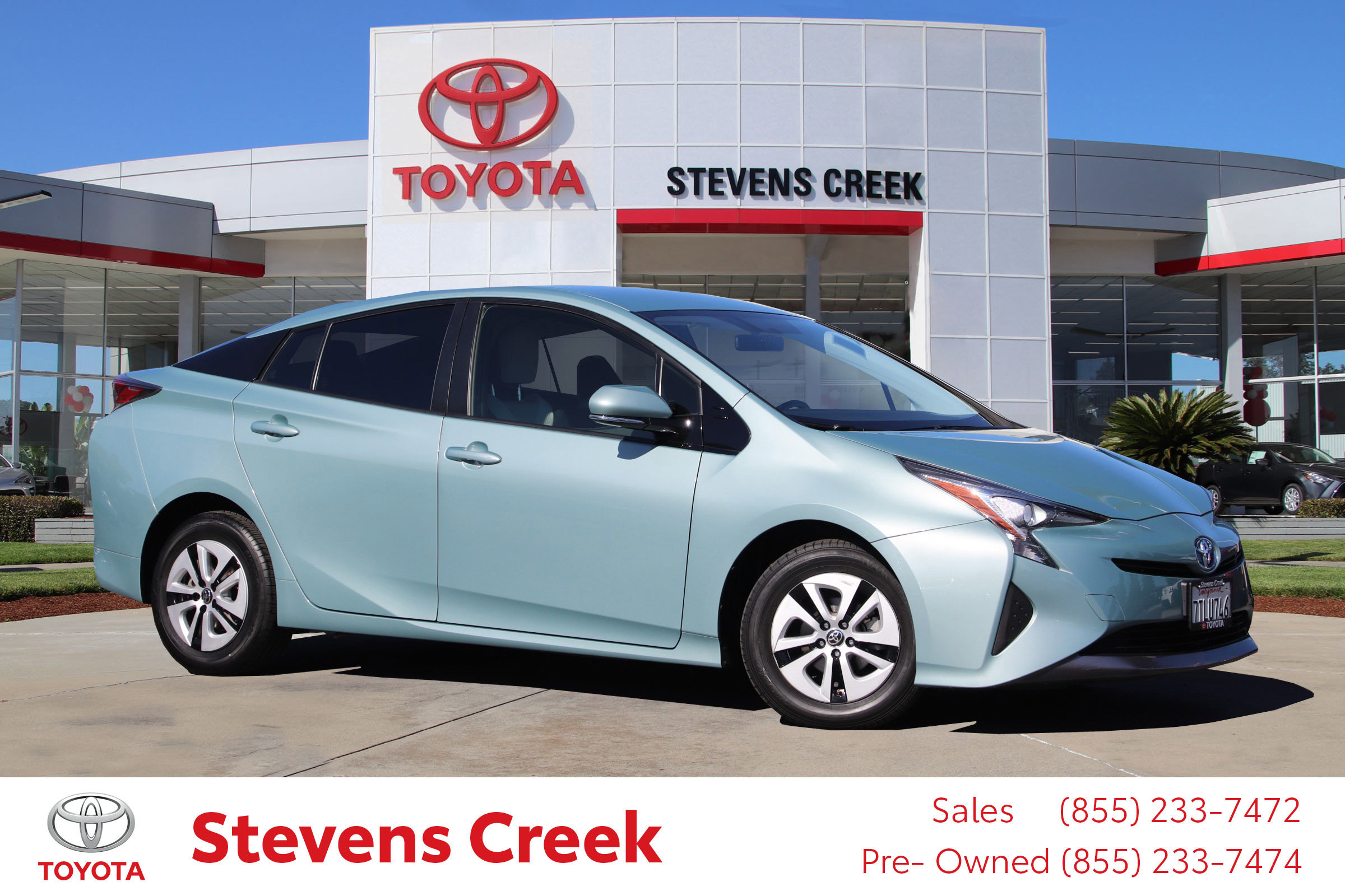 Certified Pre-Owned 2016 Toyota Prius Three Hatchback