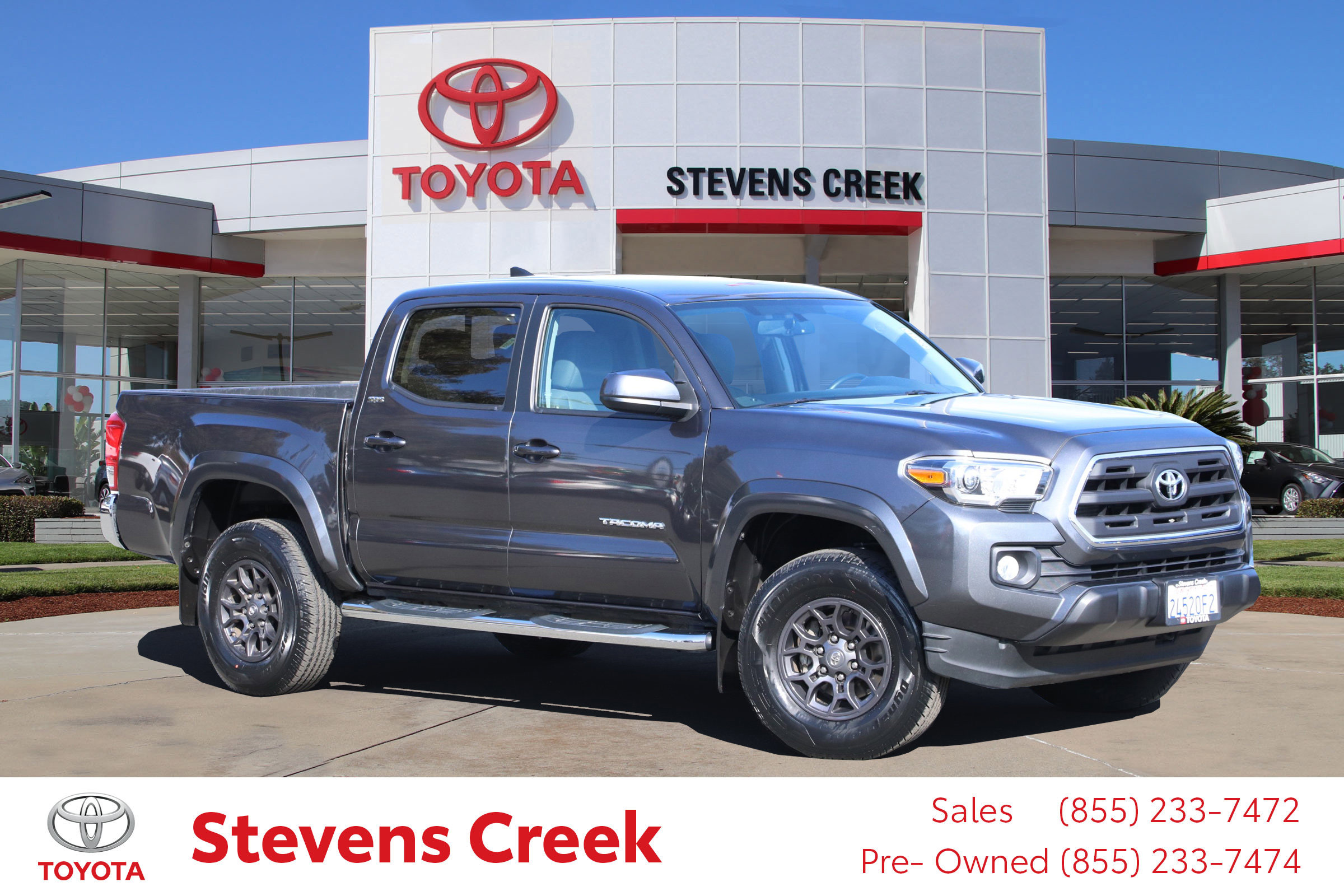 Certified Pre-Owned 2017 Toyota Tacoma Sr5 Pickup 5 Ft