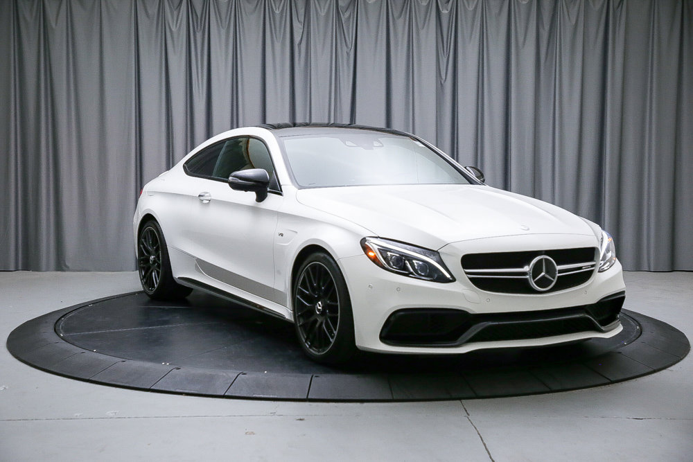 Certified Pre-Owned 2017 Mercedes-Benz C-Class AMG® C 63