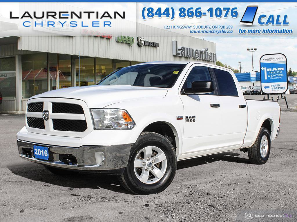 Pre-Owned 2016 Ram 1500 Outdoorsman - DRIVE RAM POWER AND CAPABILITY !