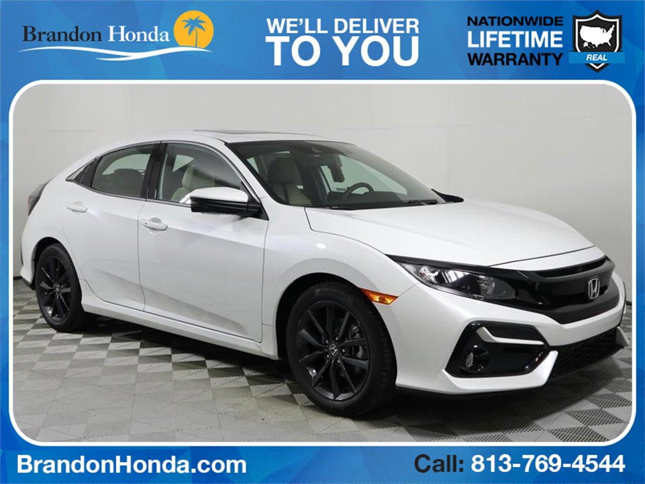 New 2020 Honda Civic Hatchback EX