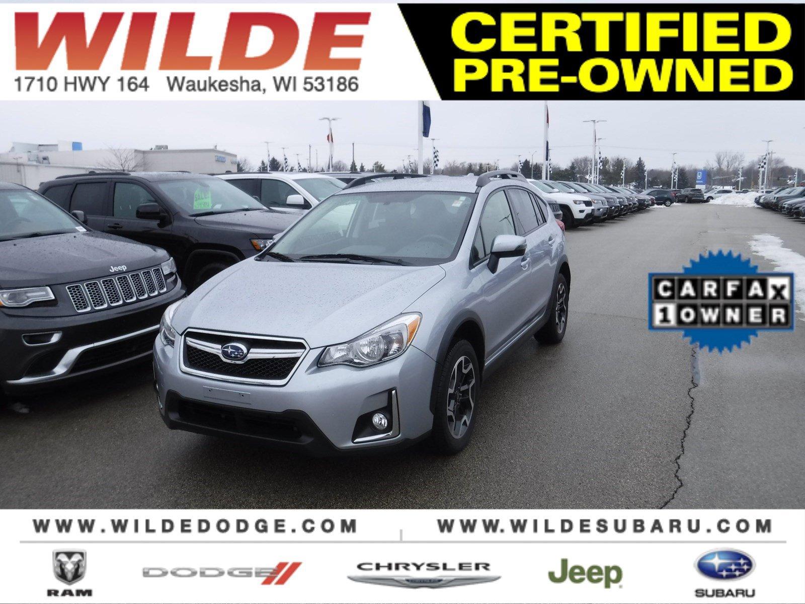 Pre-Owned 2017 Subaru Crosstrek Limited