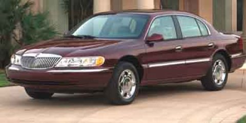 Pre-Owned 2001 Lincoln Continental Aurora: Jeep