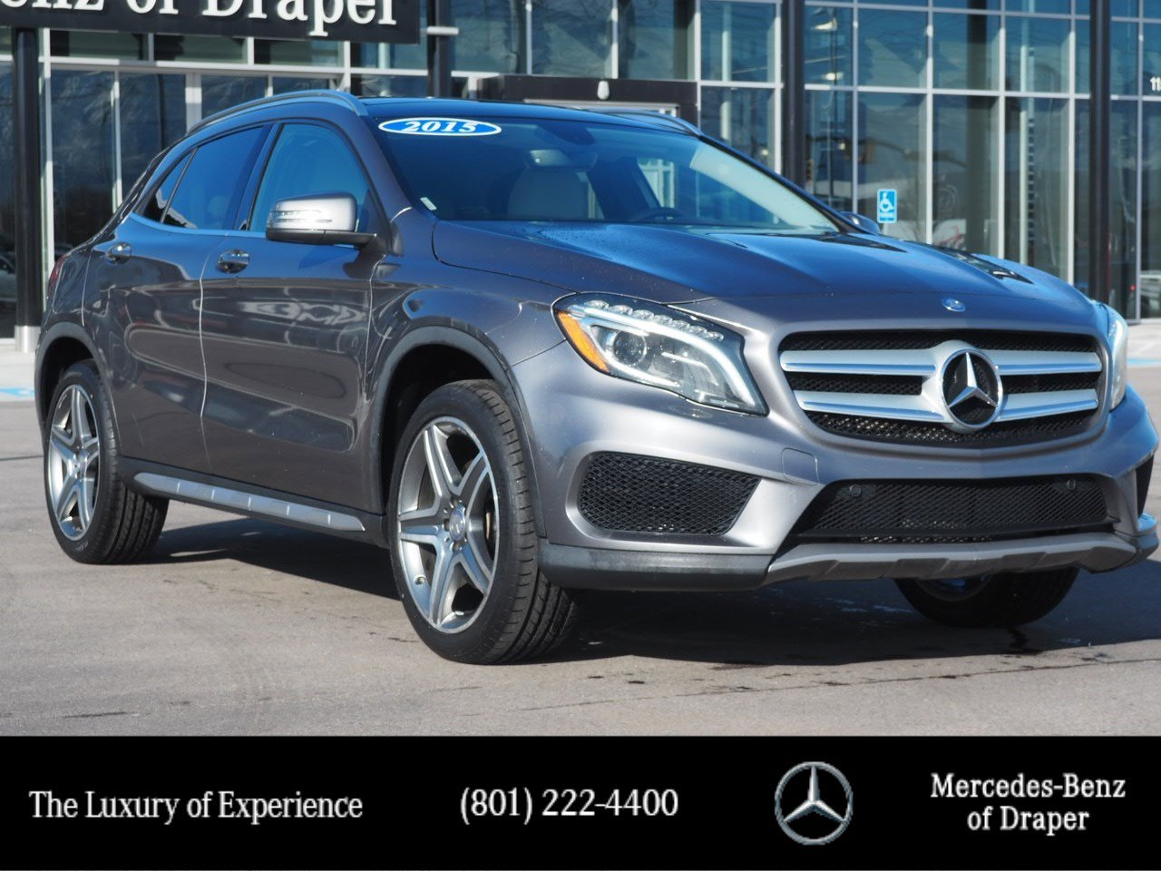 Pre-Owned 2015 Mercedes-Benz GLA 250 4MATIC®