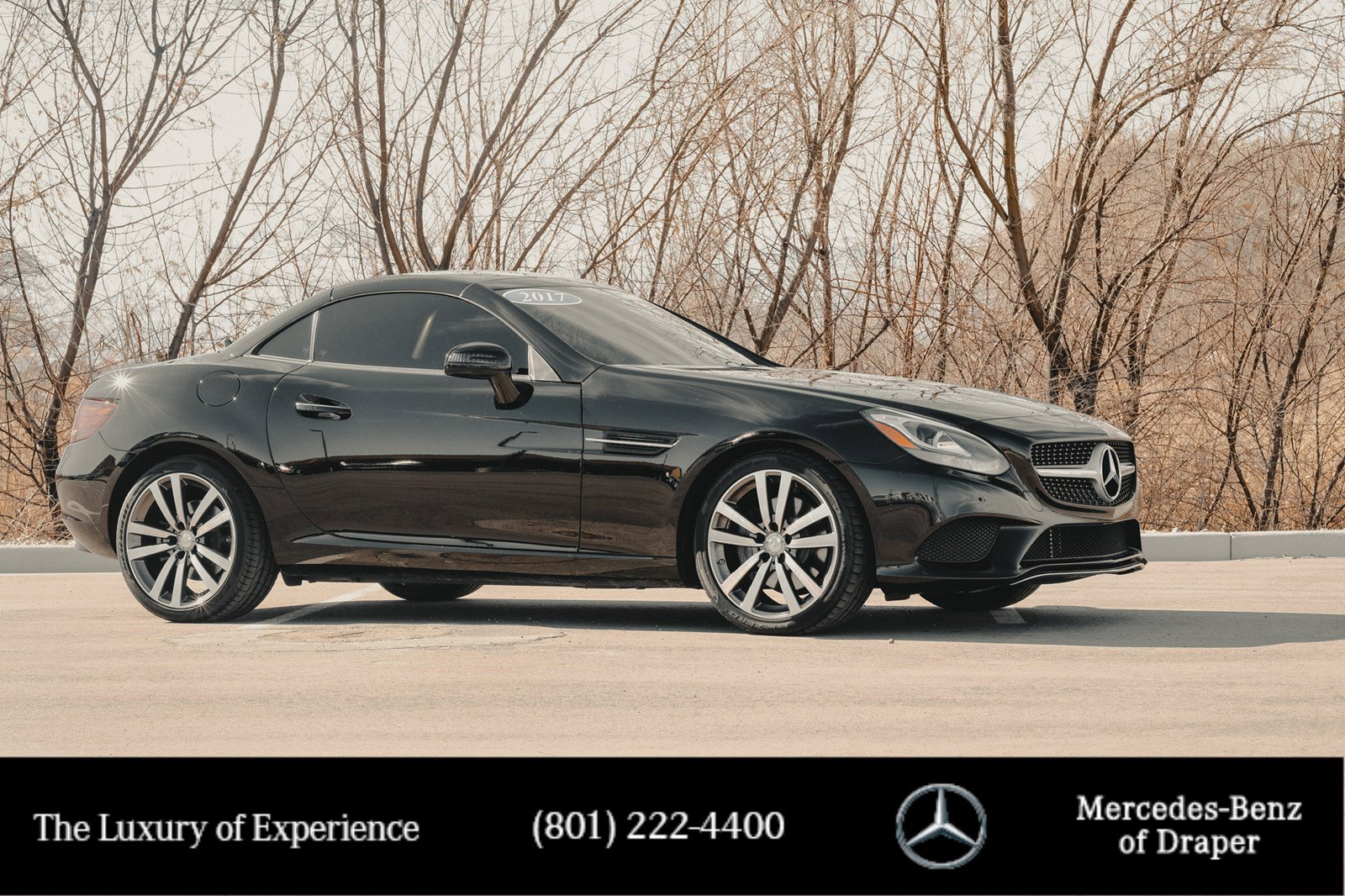 Certified Pre-Owned 2017 Mercedes-Benz SLC C 300