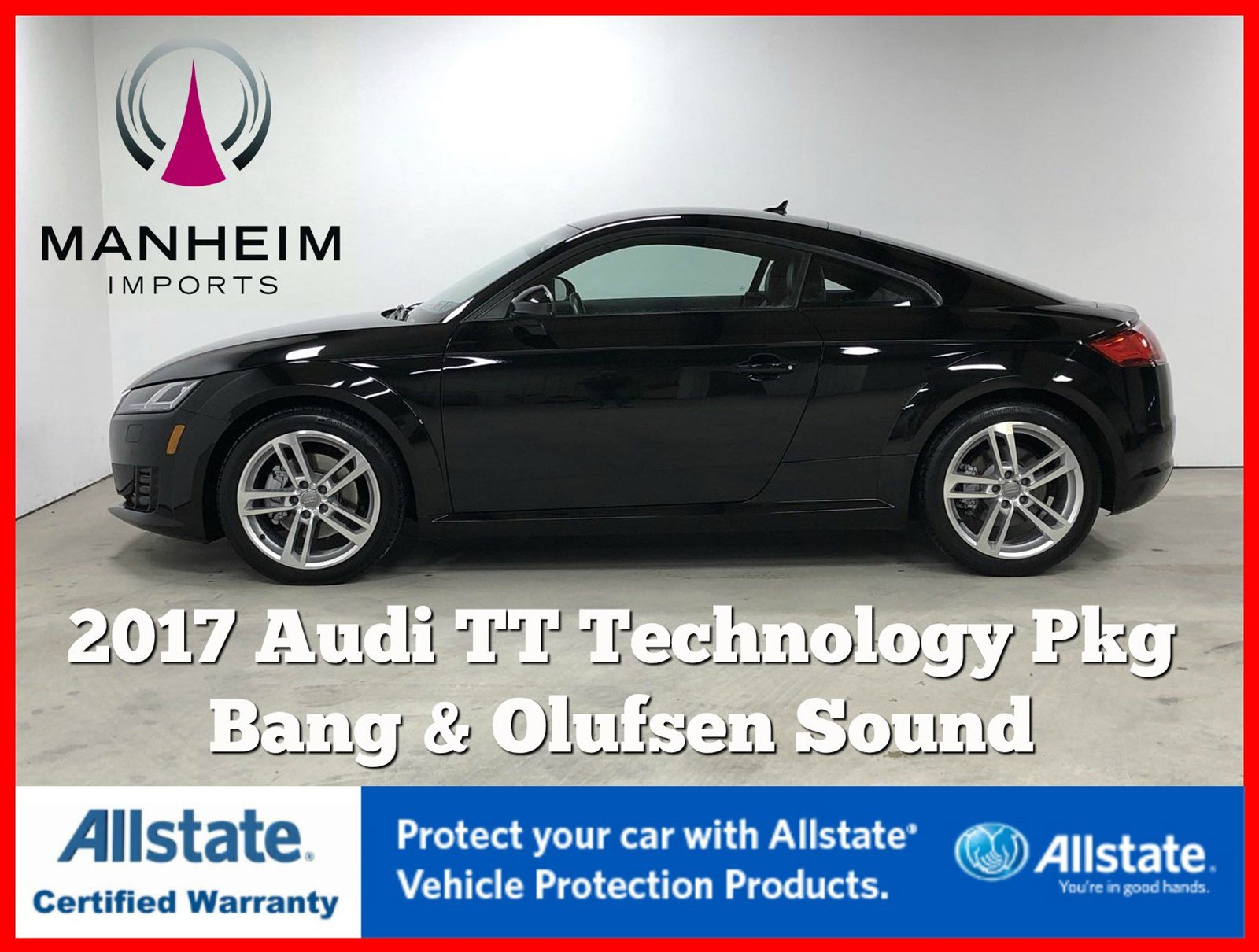 Pre-Owned 2017 Audi TT Coupe