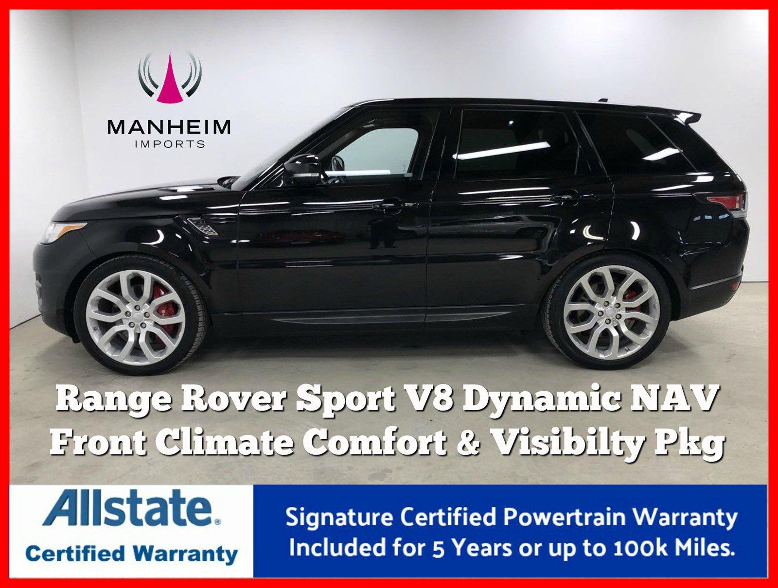Pre-Owned 2016 Land Rover Range Rover Sport 4WD 4dr V8 Dynamic