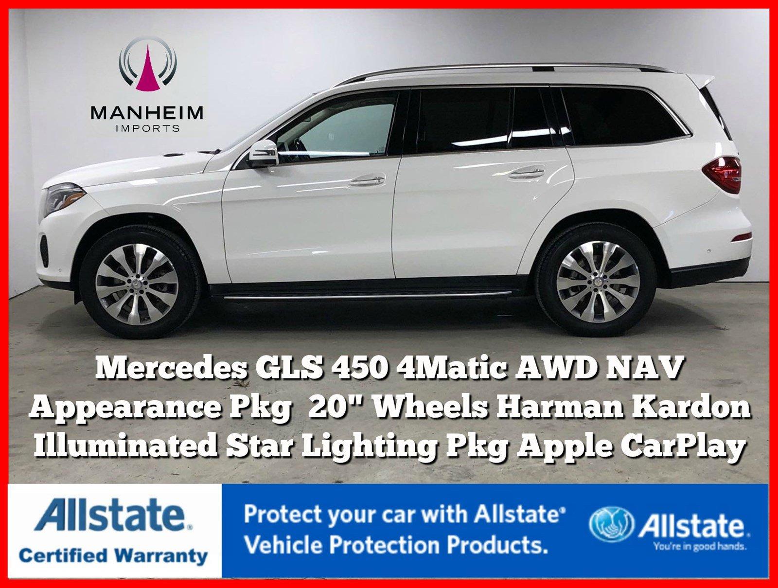 Pre-Owned 2017 Mercedes-Benz GLS GLS 450 4Matic