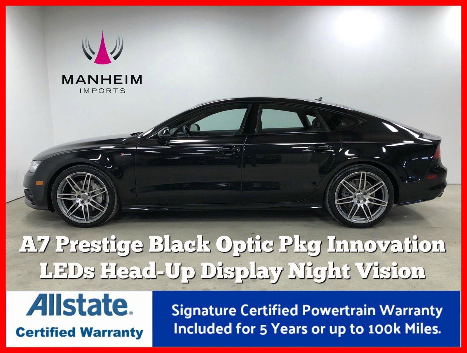 Pre-Owned 2014 Audi A7 3.0 Prestige Black Optic Package