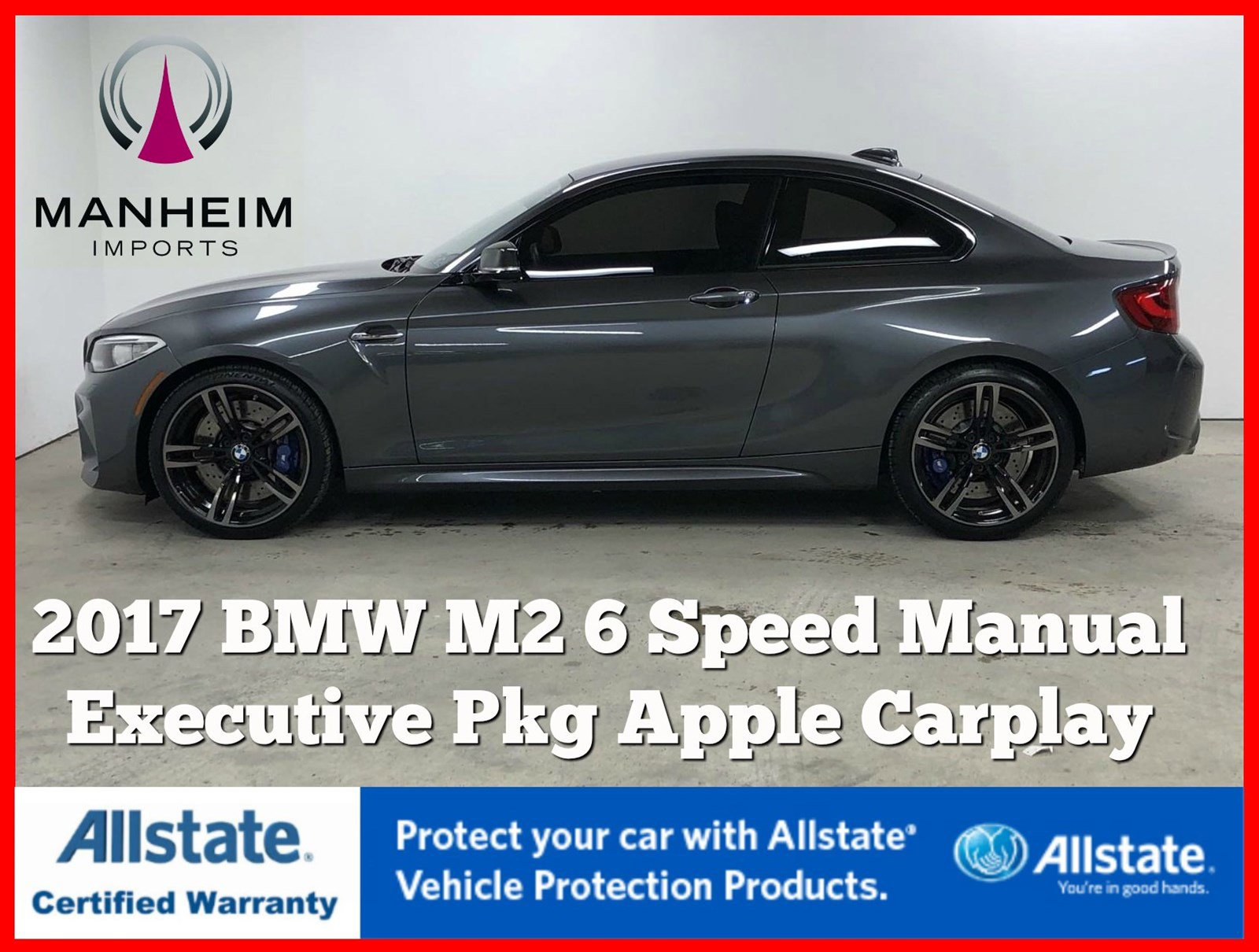 Pre-Owned 2017 BMW M2