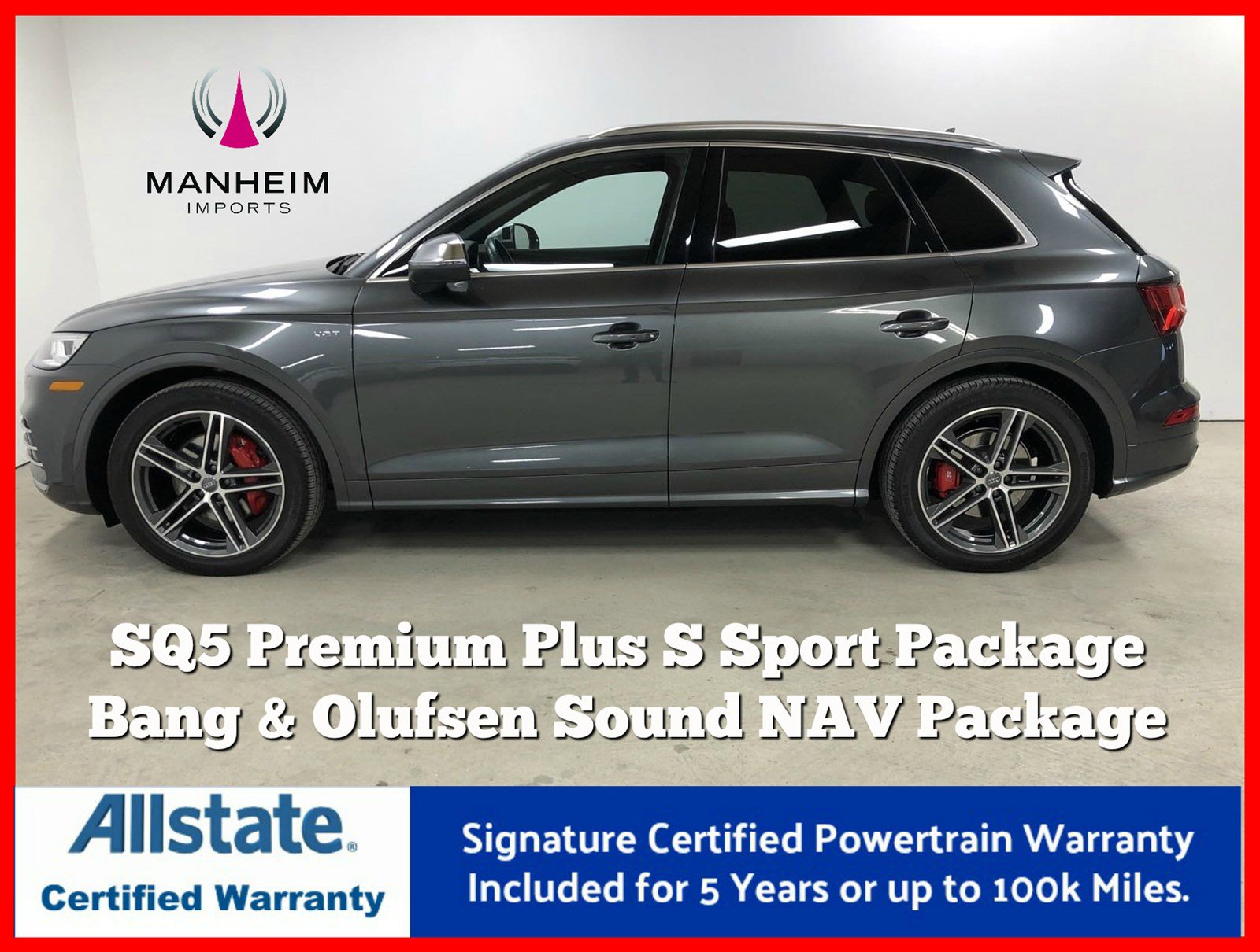 Pre-Owned 2018 Audi SQ5 Premium Plus S Sport Package