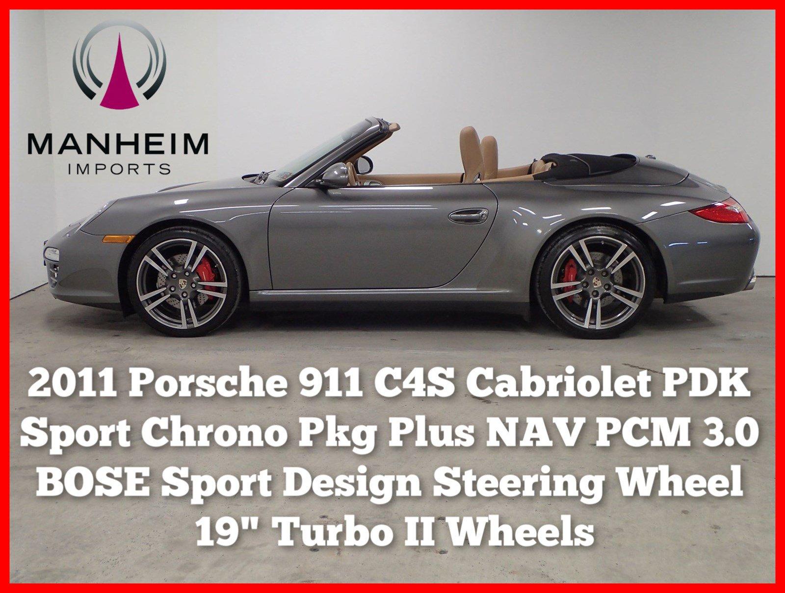 Pre-Owned 2011 Porsche 911 Carrera 4S