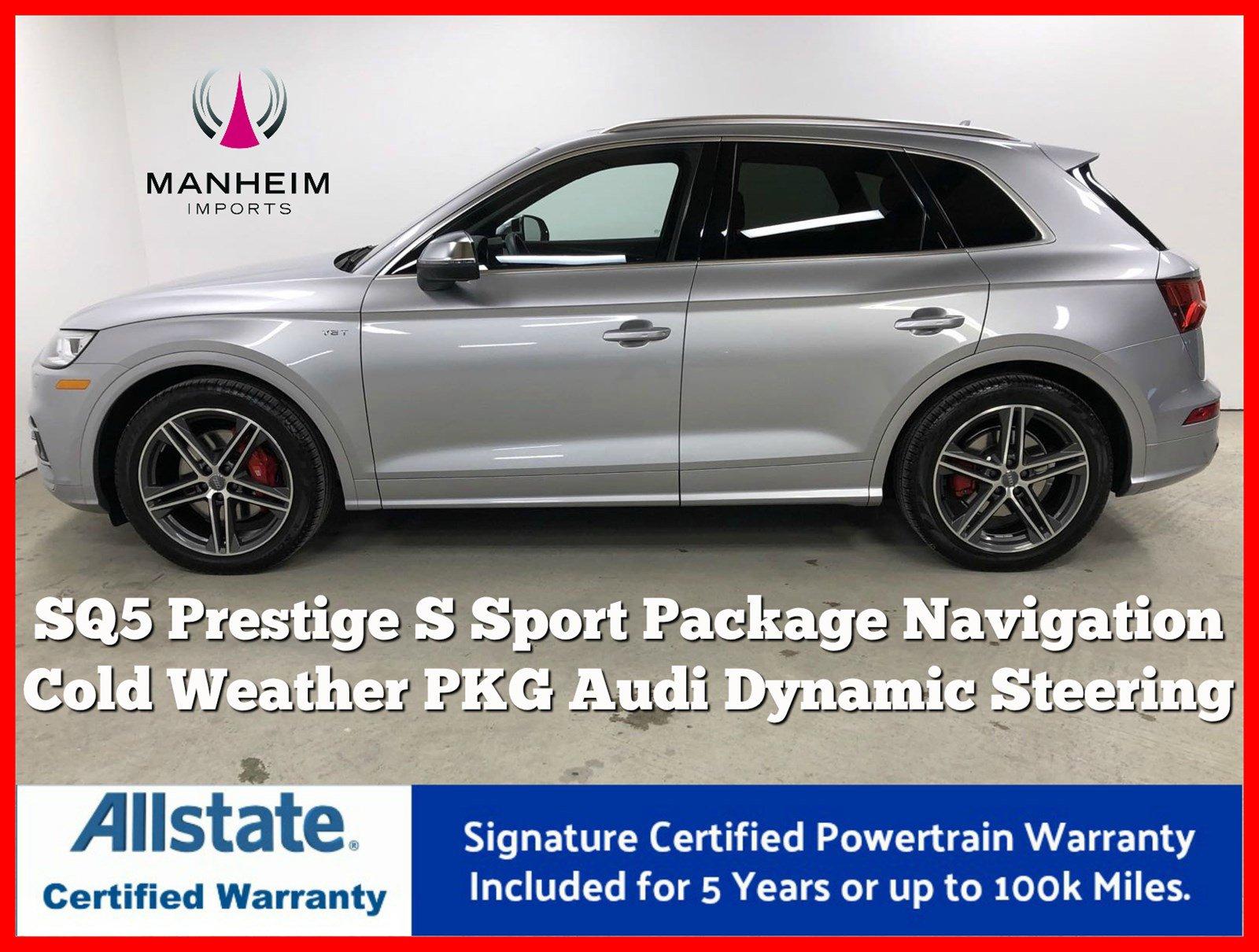 Pre-Owned 2018 Audi SQ5 Prestige 3.0T Quattro S Sport
