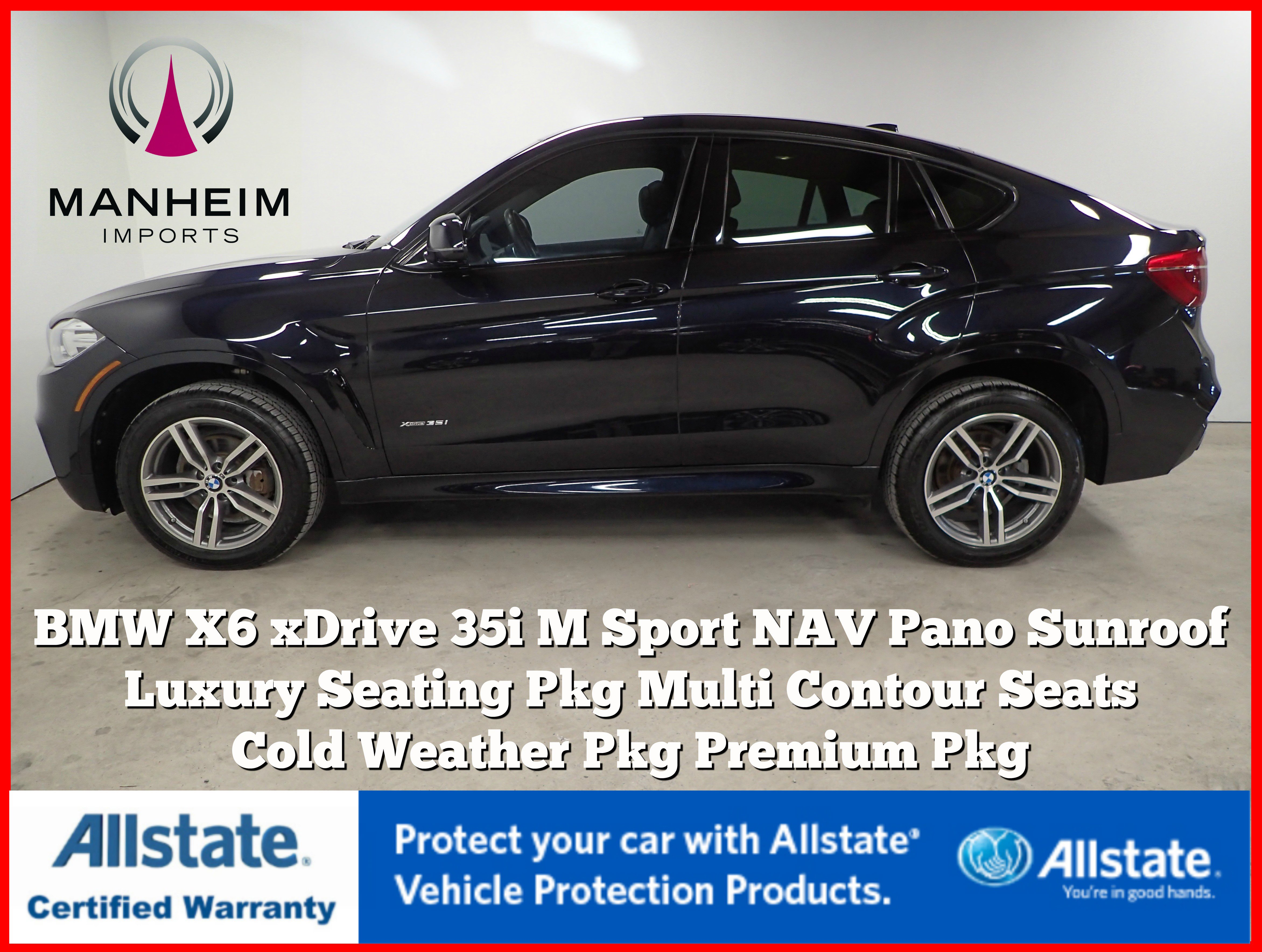 Pre-Owned 2016 BMW X6 xDrive35i