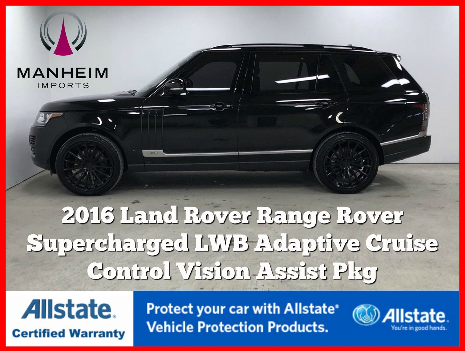Pre-Owned 2016 Land Rover Range Rover Supercharged LWB