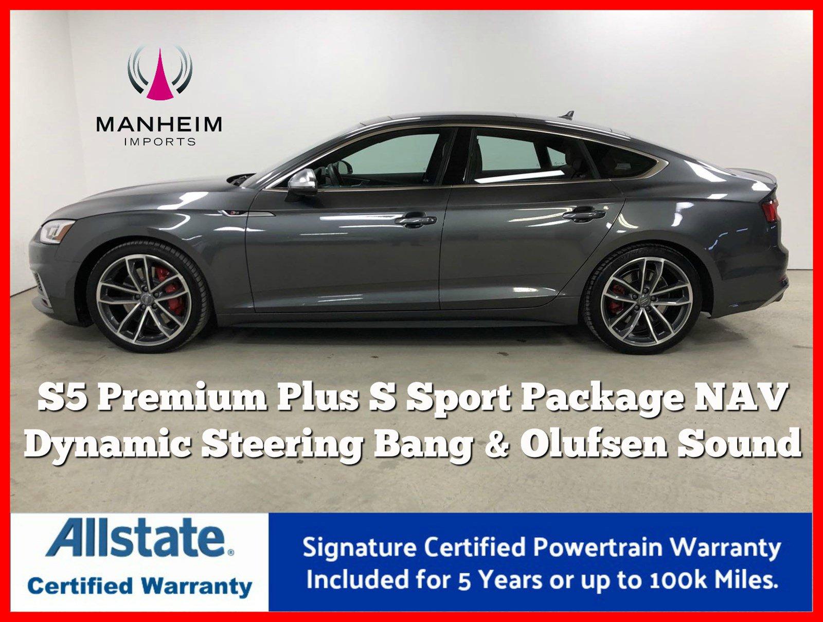 Pre-Owned 2018 Audi S5 Sportback Premium Plus