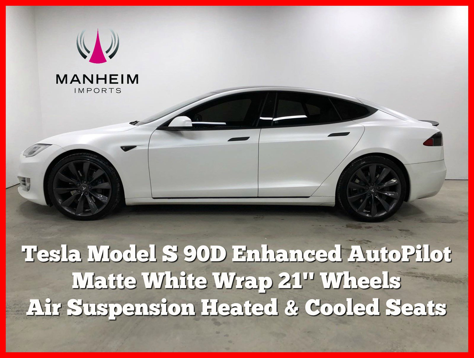 Pre-Owned 2017 Tesla Model S 90D AWD