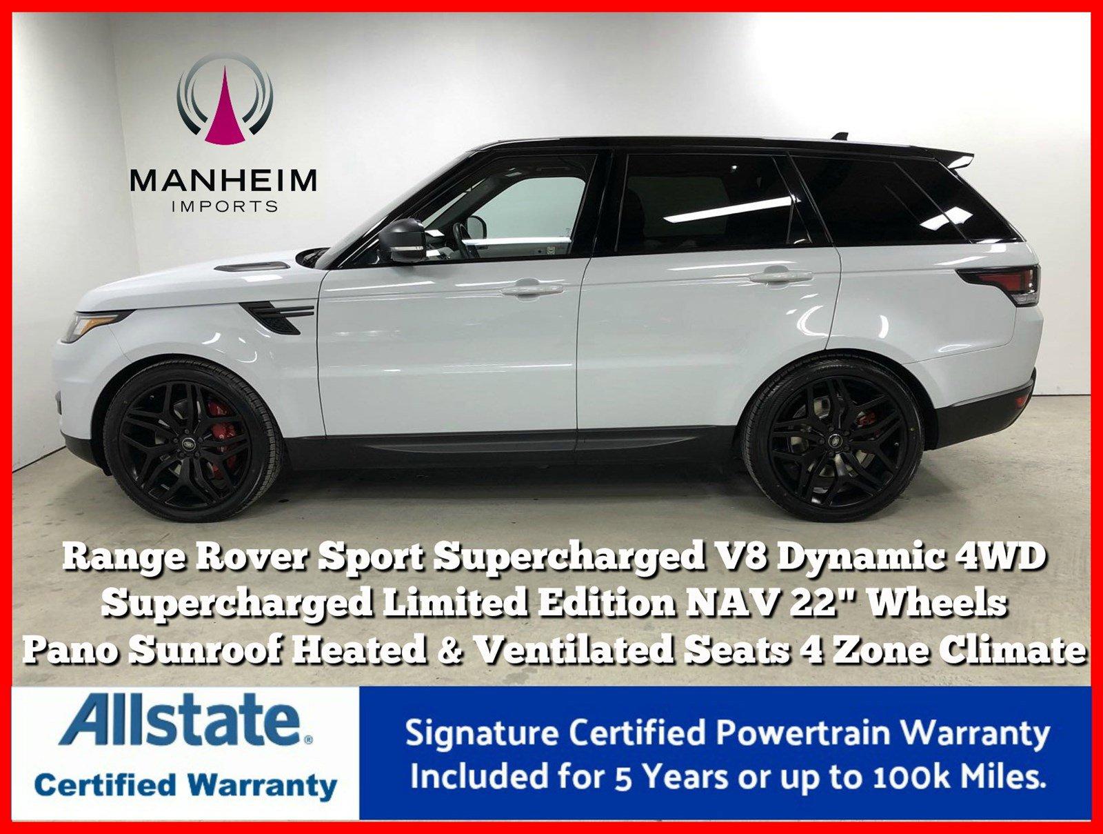 Pre-Owned 2016 Land Rover Range Rover Sport SC V8 Dynamic