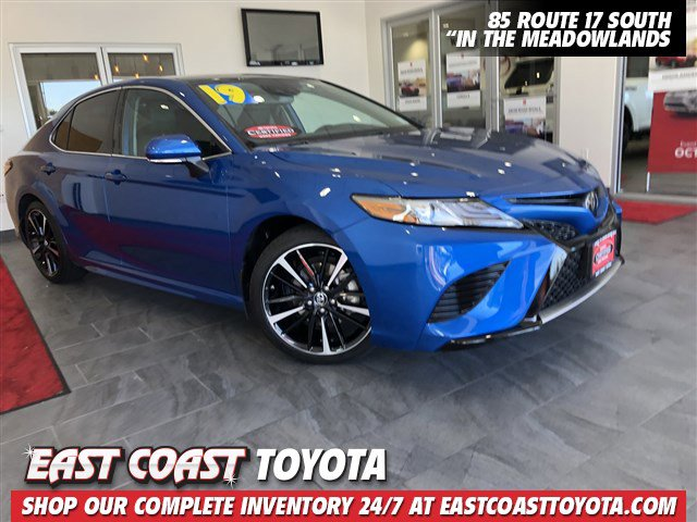 Certified Pre-Owned 2019 Toyota Camry XSE 4-CYL 4DR SEDAN