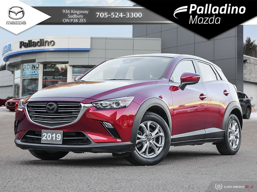 Pre-Owned 2019 Mazda CX-3 GS - HEATED WHEEL AND SEATS - CLEAN HISTORY AWD