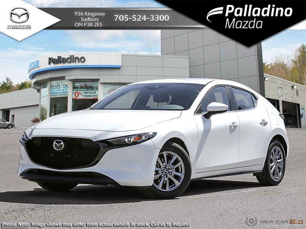 New 2020 Mazda3 Sport GS