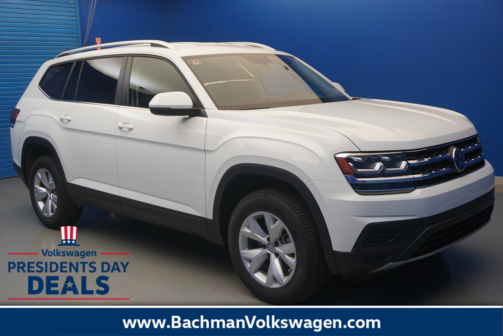 New 2019 Volkswagen Atlas 3.6L V6 S
