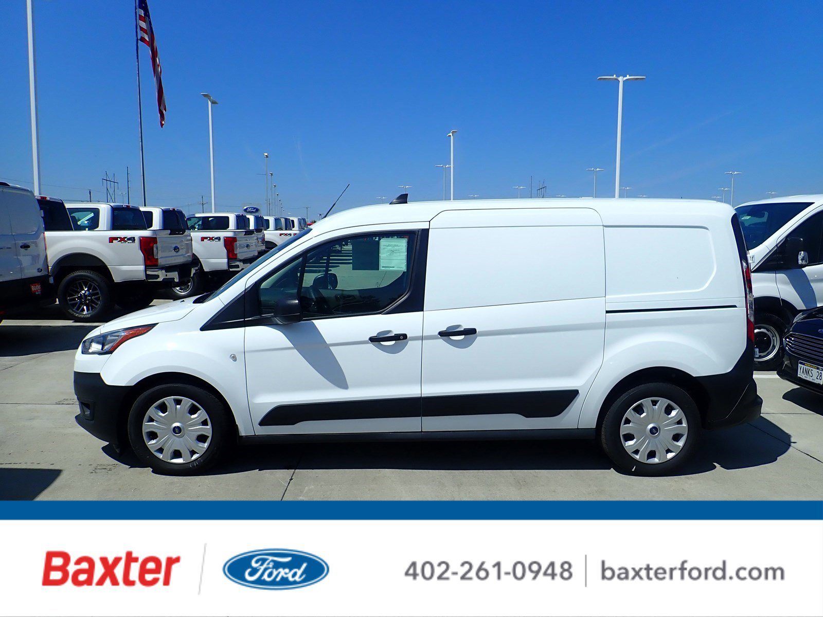 New 2020 Ford Transit Connect Commercial XL Cargo Van