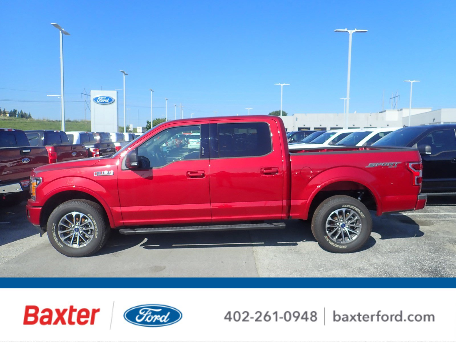 New 2019 Ford F-150 XLT Sport
