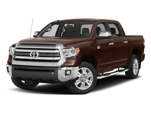 Pre-Owned 2017 Toyota Tundra 4WD Platinum CrewMax 5.5' Bed 5.7L FFV