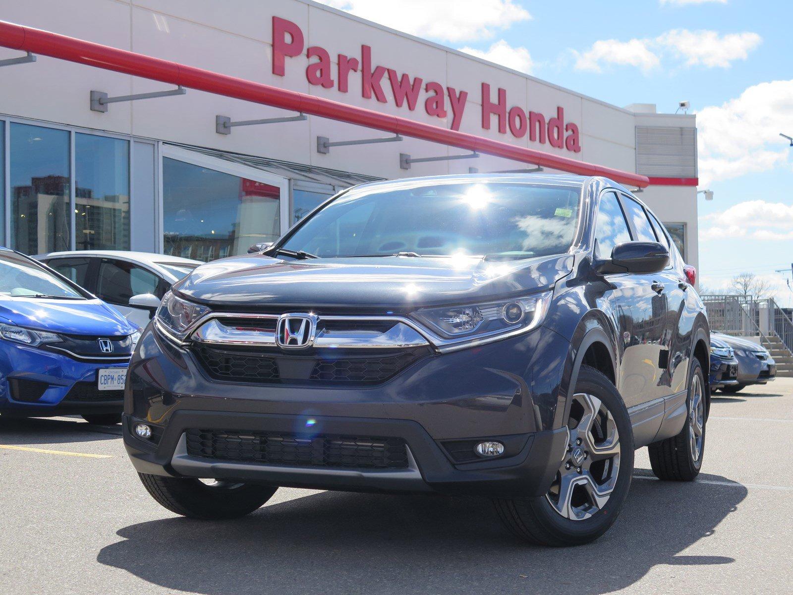 New 2018 Honda CR-V EX-L