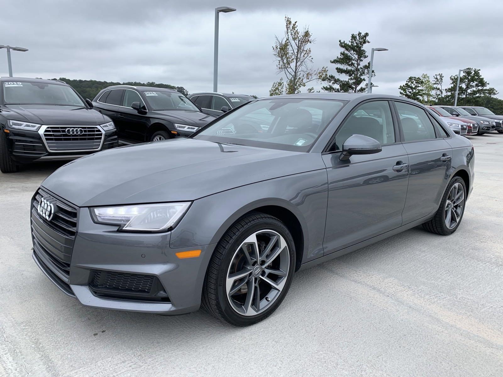Certified Pre-Owned 2019 Audi A4 Premium