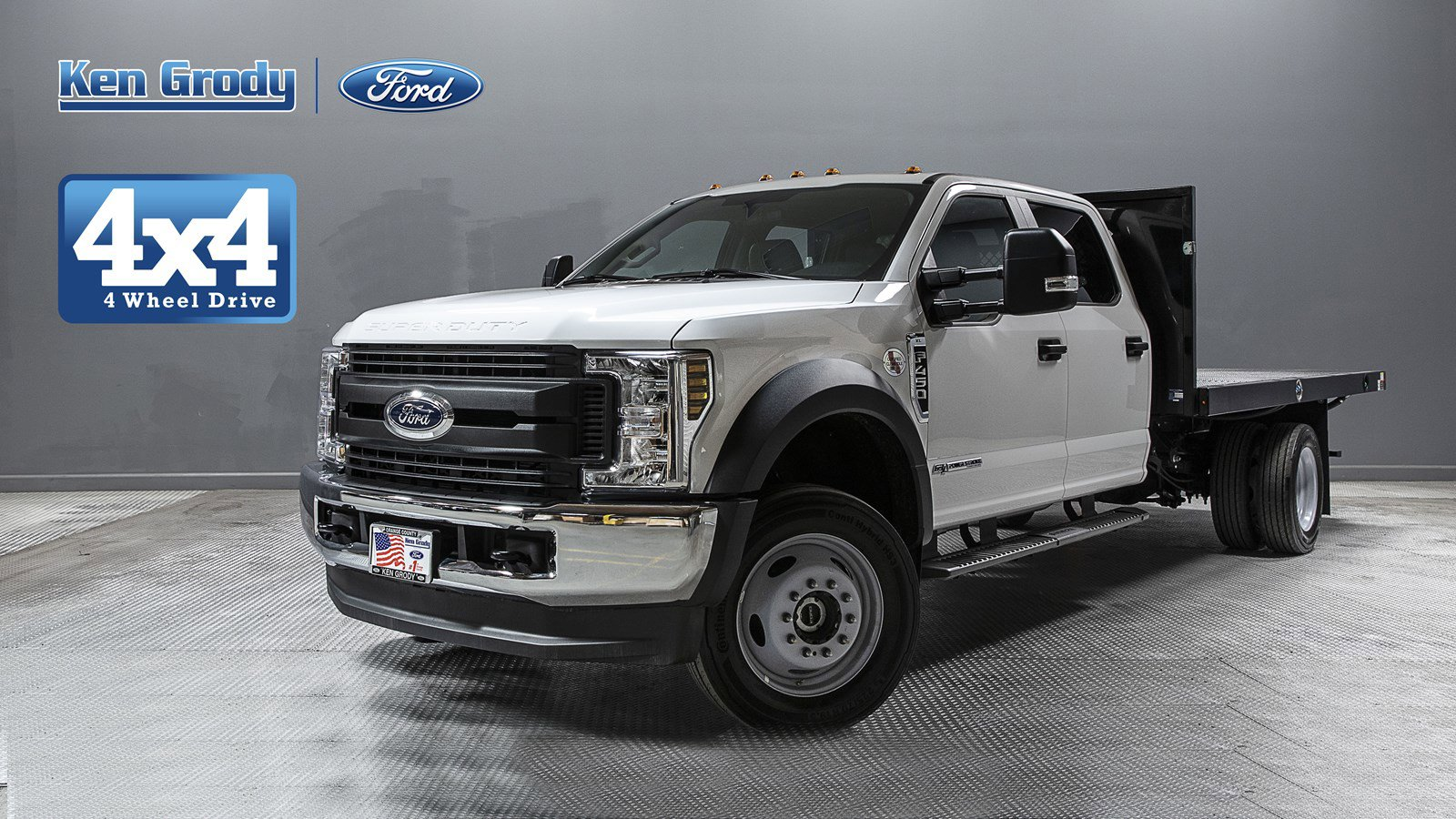 New 2019 Ford Super Duty F-450 DRW XL With 13 Flatbed