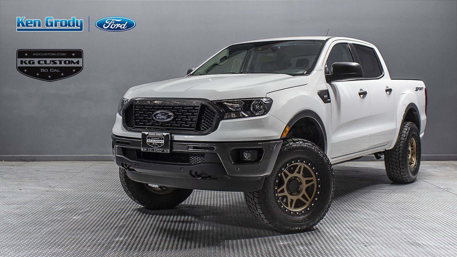 New 2019 Ford Ranger XLT KG CUSTOM