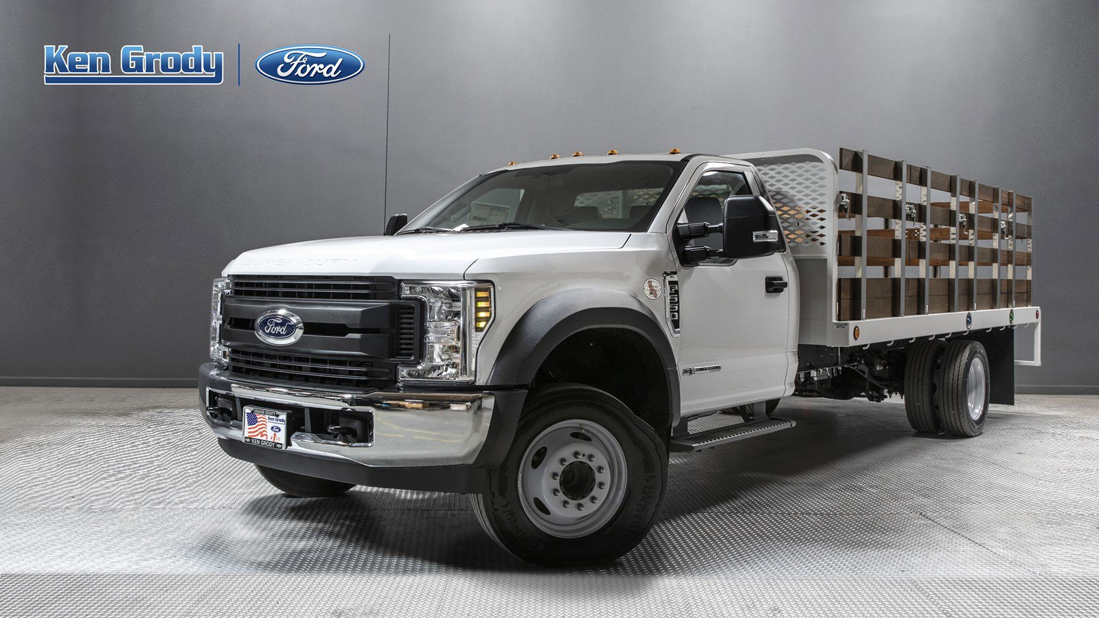 New 2019 Ford Super Duty F-550 DRW XL With 16 Stakebed