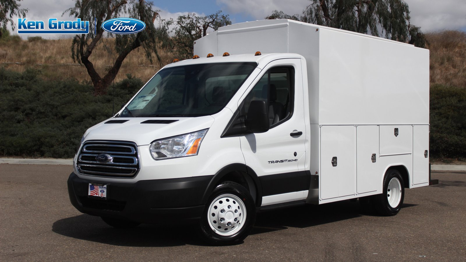 New 2019 Ford Transit Chassis XL