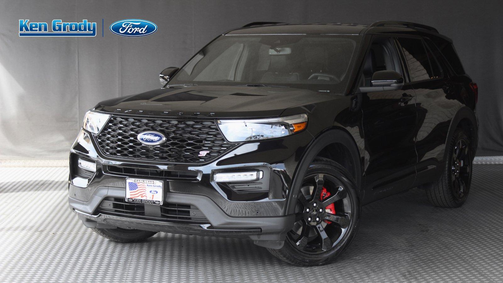 New 2020 Ford Explorer ST