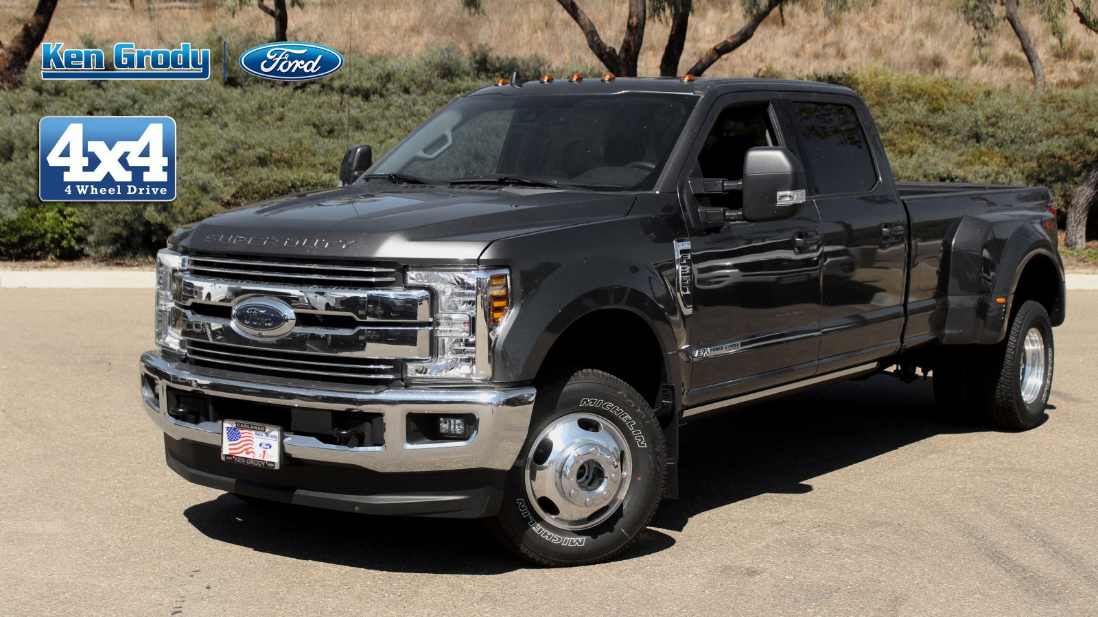 New 2019 Ford Super Duty F-350 DRW LARIAT