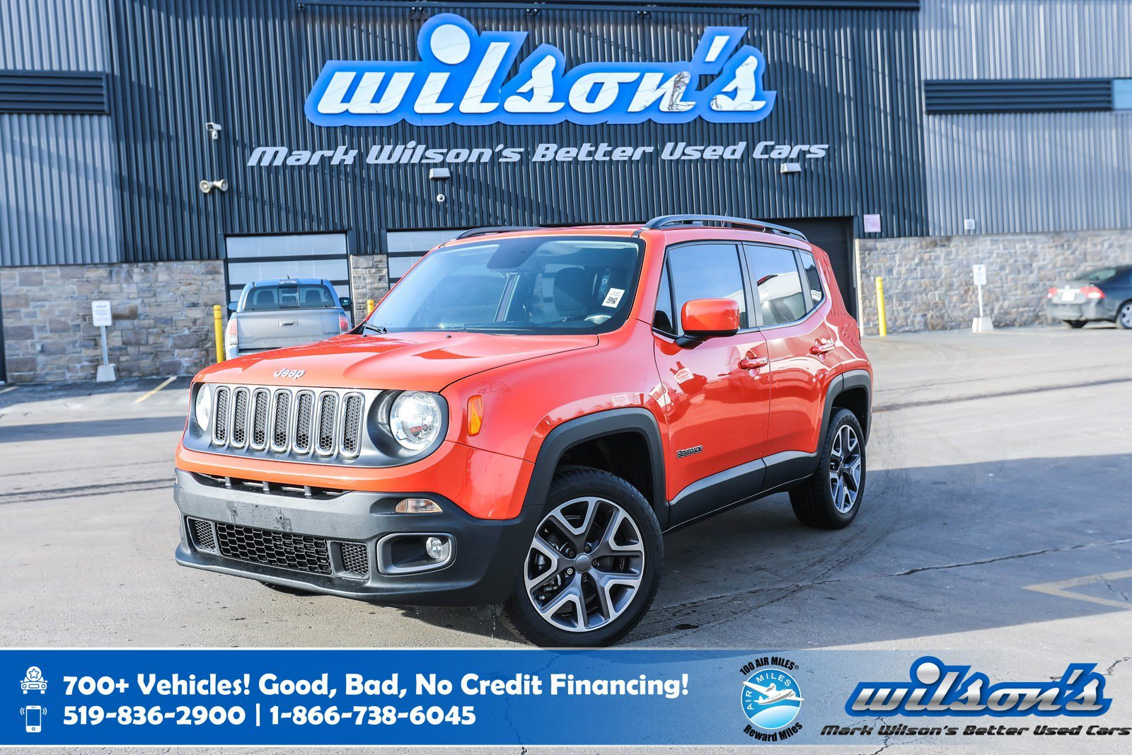 Certified Pre-Owned 2015 Jeep Renegade North 4x4, Navigation, Rear Camera, Heated Steering + Seats, Blindspot Alert and more!
