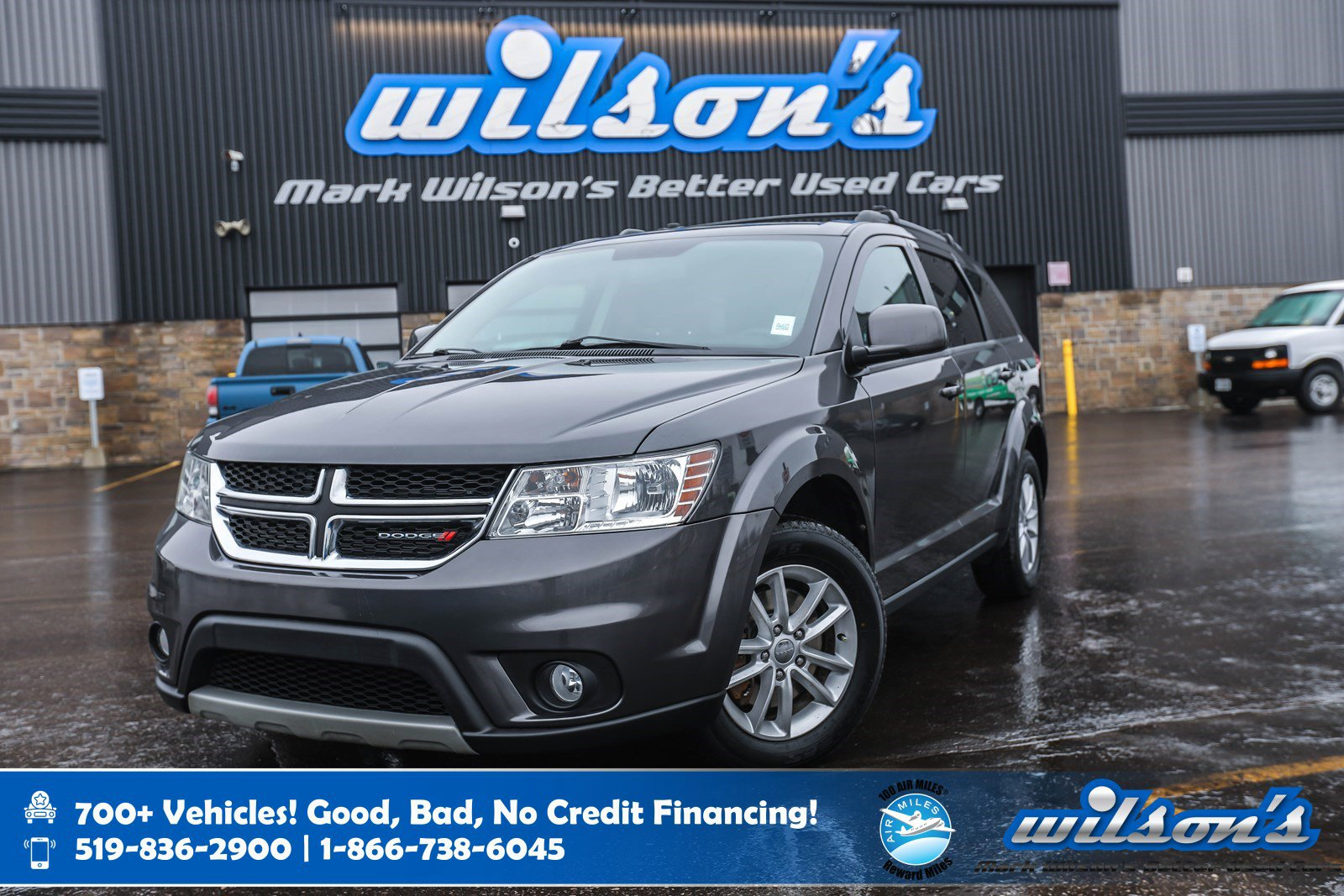 Certified Pre-Owned 2015 Dodge Journey SXT, 7 Passenger, New Tires, Cruise Control, Alloy Wheels, Keyless Entry, Power Package and more!