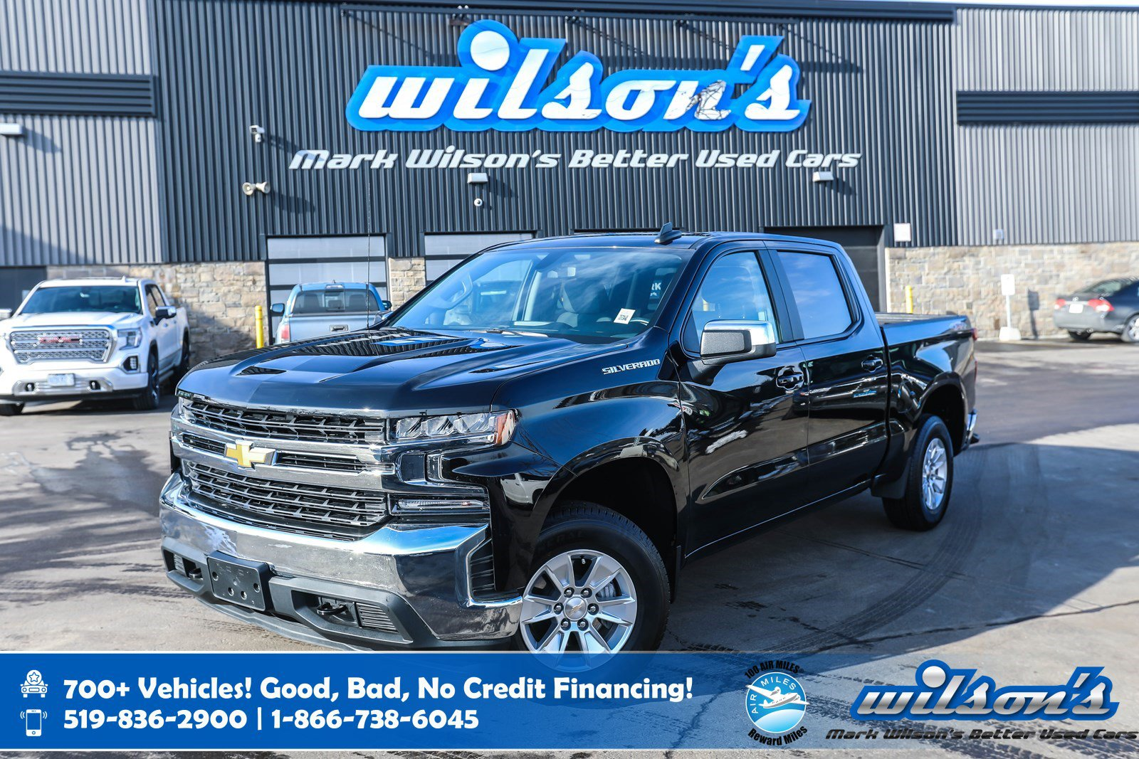 """Certified Pre-Owned 2019 Chevrolet Silverado 1500 LT Crew Cab 4x4, 8"""" Touchscreen, Android Auto + Apple CarPlay, Bluetooth and more!"""