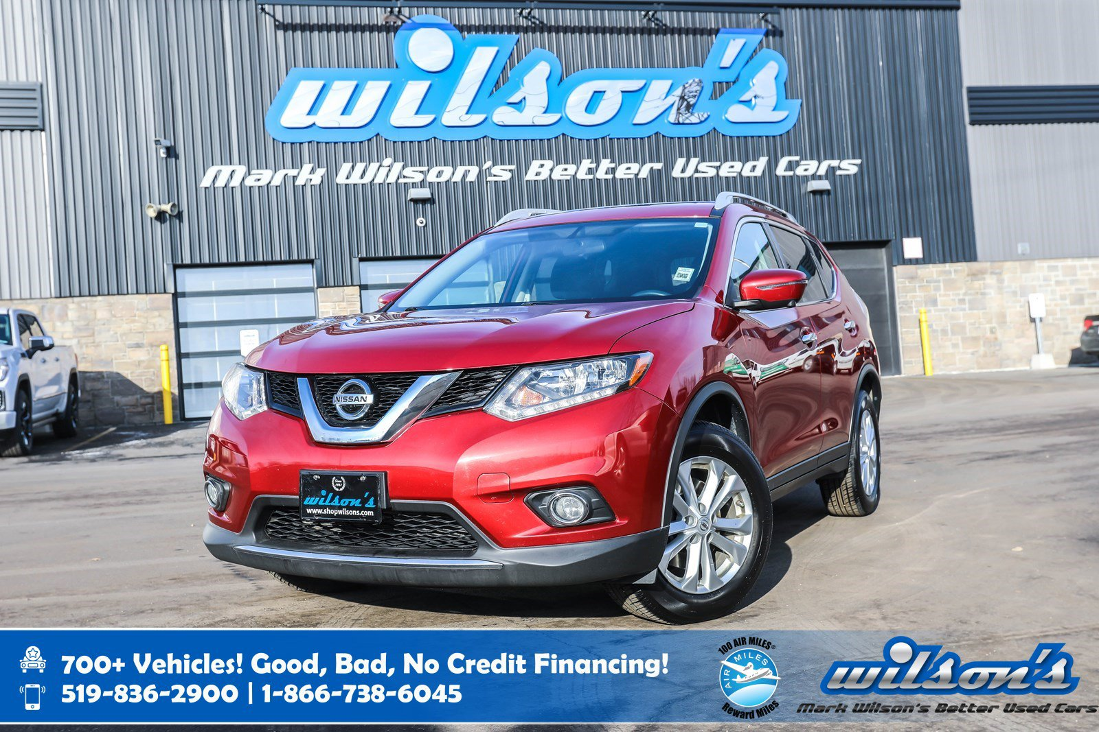 Certified Pre-Owned 2016 Nissan Rogue SV AWD, 7 Pass, Navigation, Sunroof, Power Seat, Heated Seats, Bluetooth, Rear Camera and more!