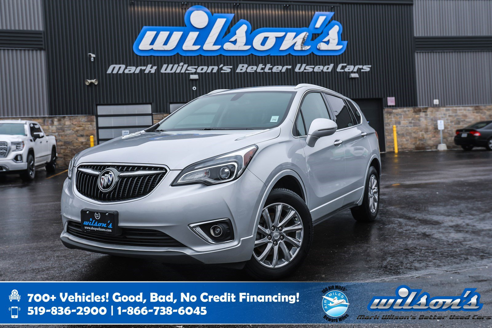 Certified Pre-Owned 2019 Buick Envision Essence AWD, Leather, Heated Steering + Seats, Remote Start, Bluetooth, Rear Camera and more!