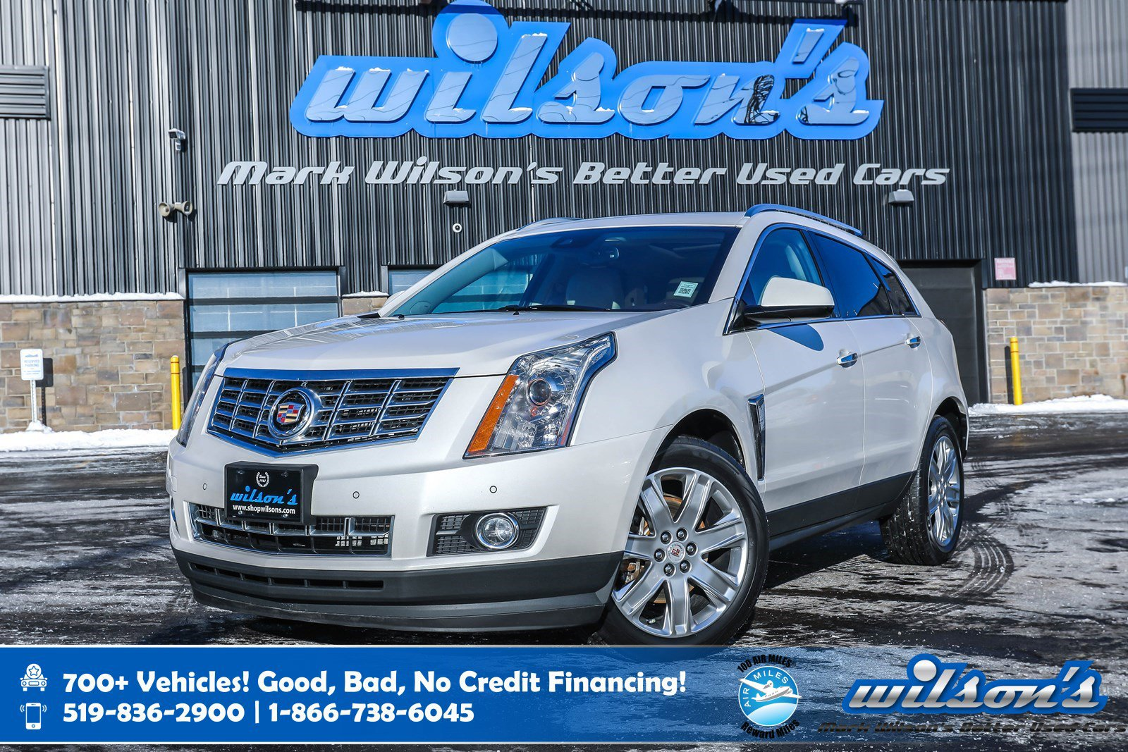 Certified Pre-Owned 2015 Cadillac SRX Premium AWD, Leather, Navigation, Sunroof, DVD, Heated + Cooled Seats, Heated Steering and more!