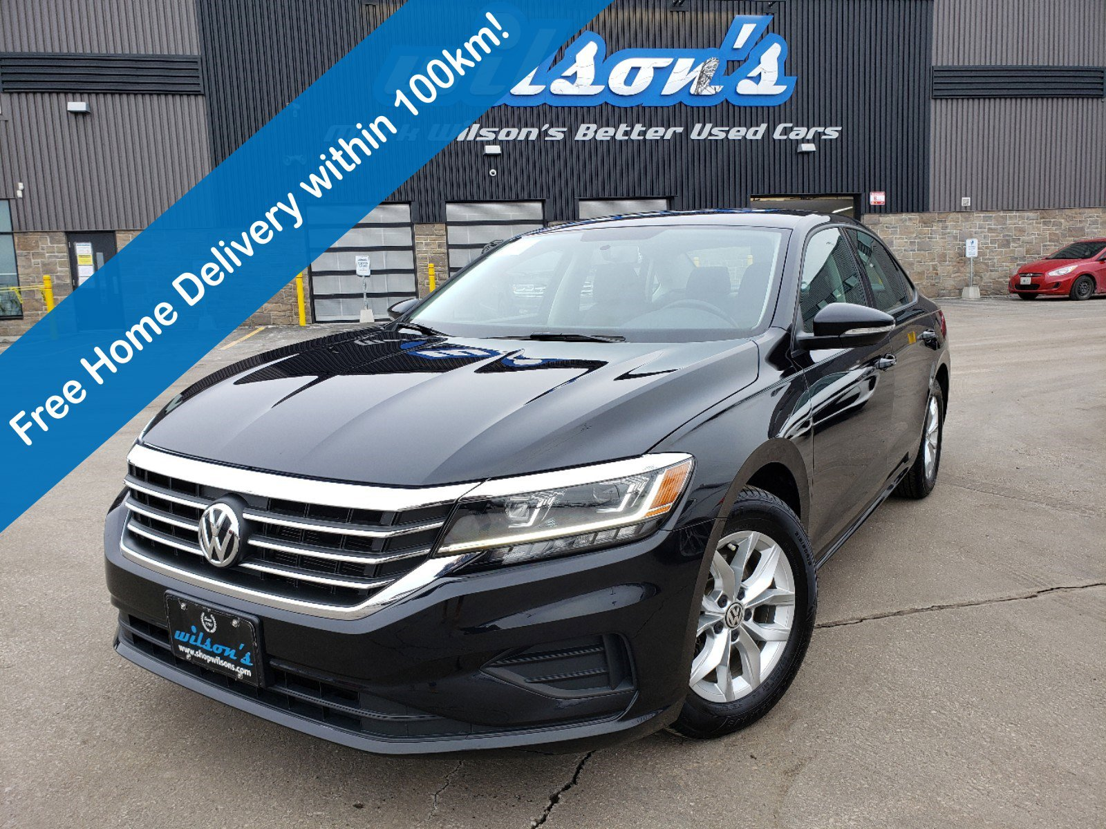 Certified Pre-Owned 2020 Volkswagen Passat Comfortline, Android Auto + Apple CarPlay, Remote Start, Headed Seats, Alloys Wheels & More!