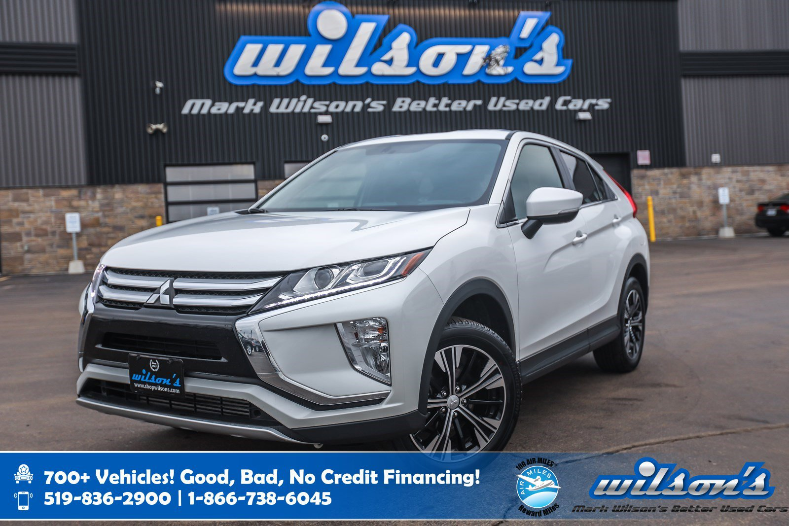 Certified Pre-Owned 2019 Mitsubishi Eclipse Cross SE AWD, Blind Spot Warning, Dual Zone Auto Climate, Heated Seats, Bluetooth and more!