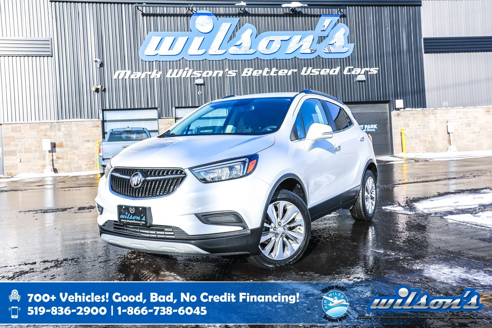 Certified Pre-Owned 2019 Buick Encore Preferred AWD, Leather Trim, Rear Camera, Power Seat, Bluetooth and more!