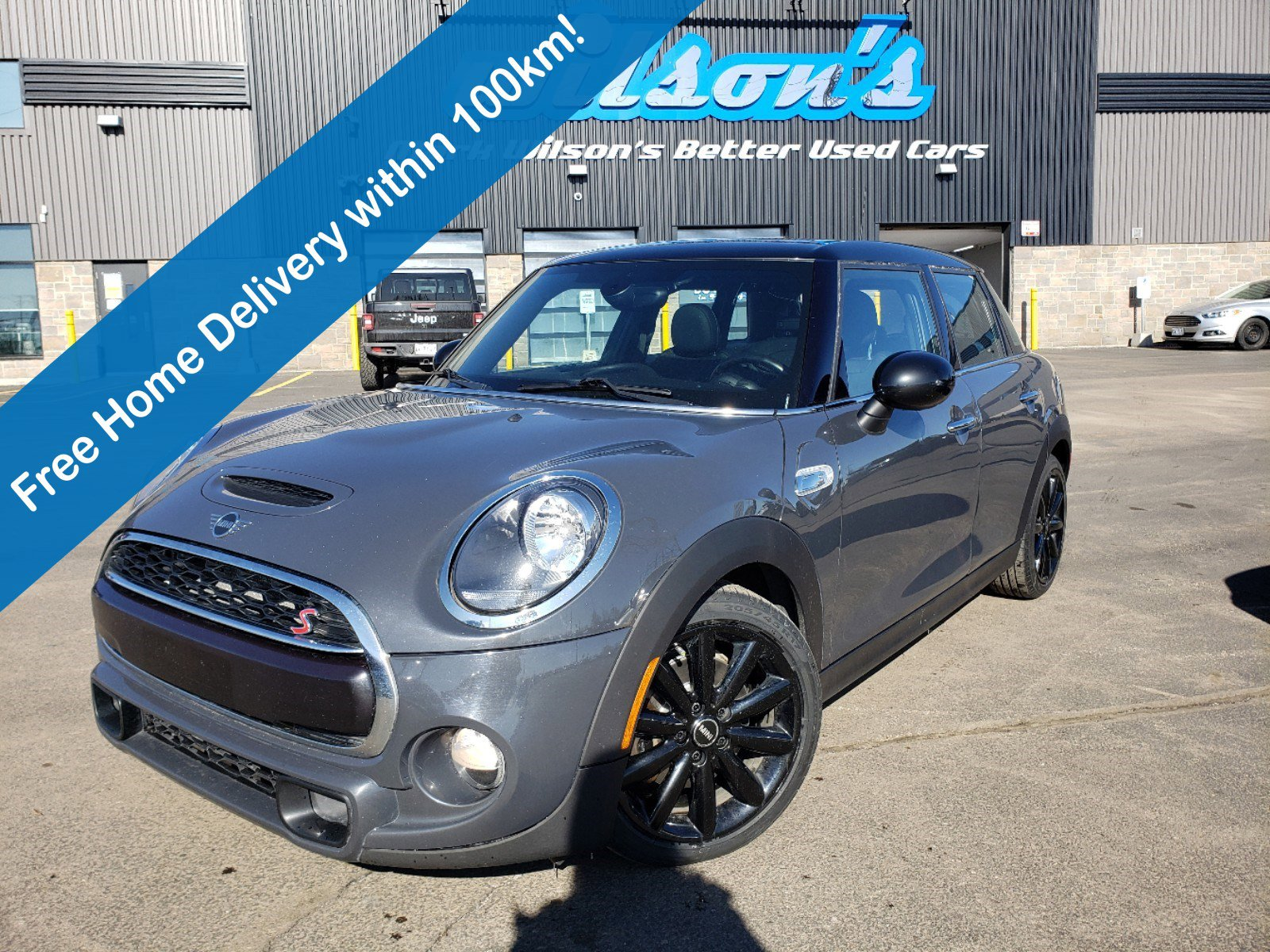 Certified Pre-Owned 2019 MINI 5 Door Cooper S, 6-Speed, Navigation, Sunroof, Leather, Rear Camera, Park Sensors, Alloy Wheels & More!