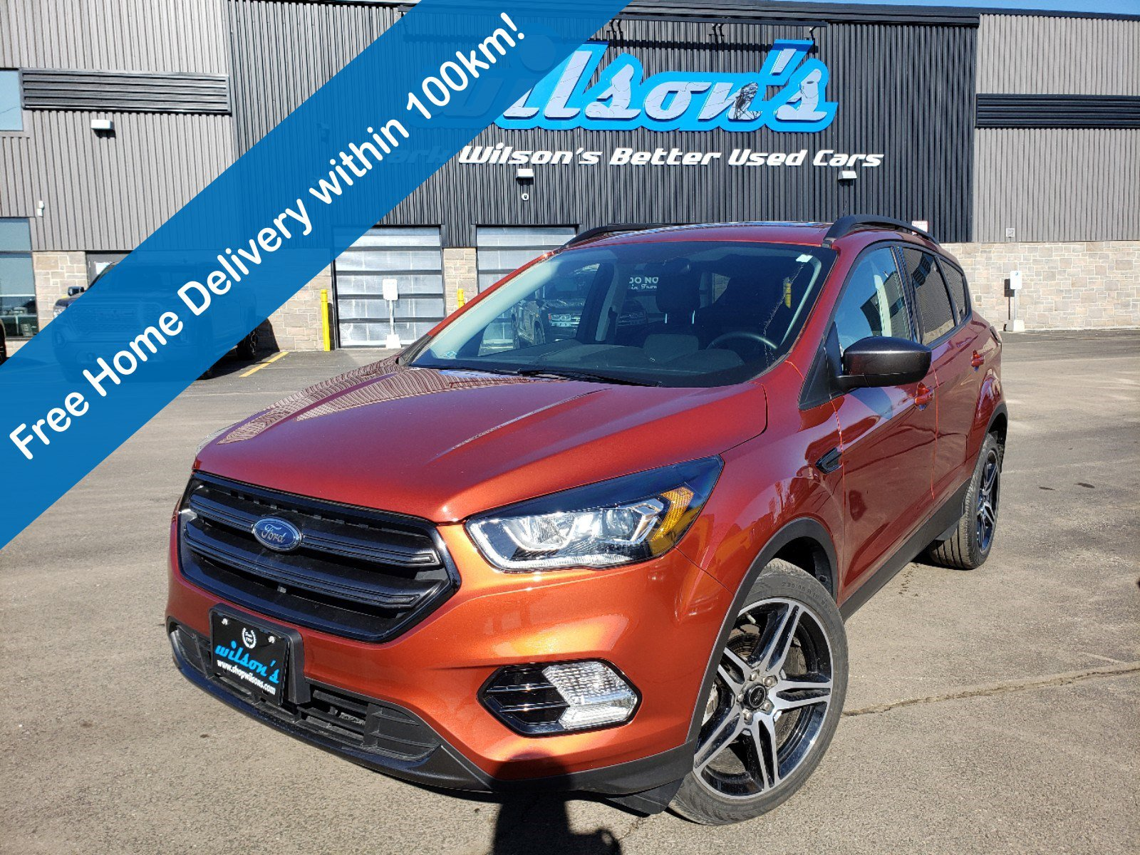 Certified Pre-Owned 2019 Ford Escape SEL Leather, Power Seats, Heated Seats, Parking Sensors, Reverse Camera, and much more!