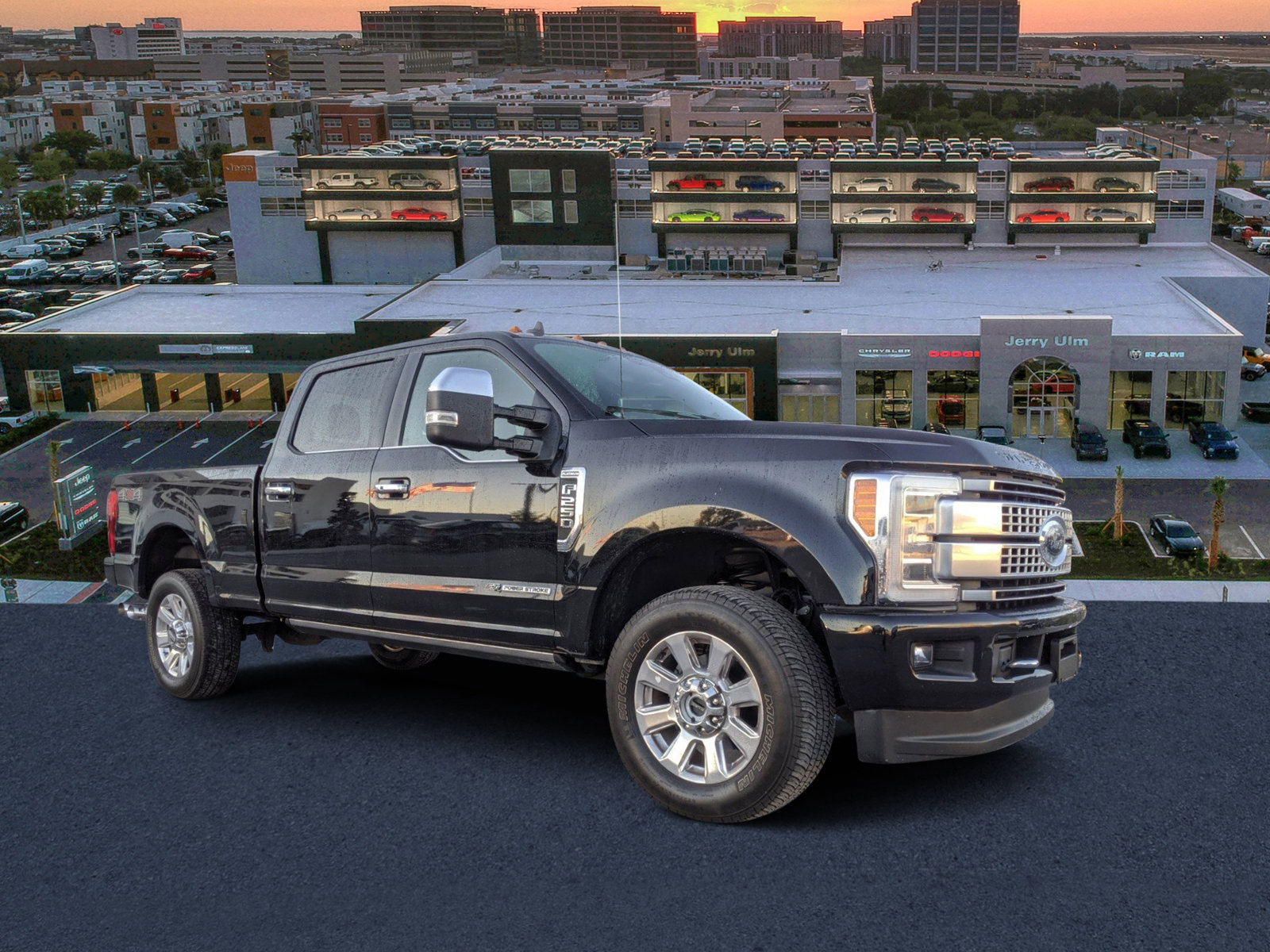 Pre-Owned 2019 Ford F-250SD Platinum