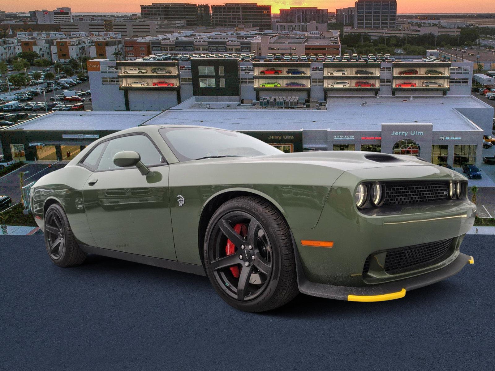 New 2020 DODGE Challenger SRT Hellcat